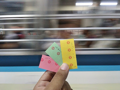 Egypt's Metro tickets