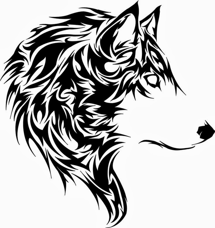 Tattoos Book: +2510 FREE Printable Tattoo Stencils: Wolf