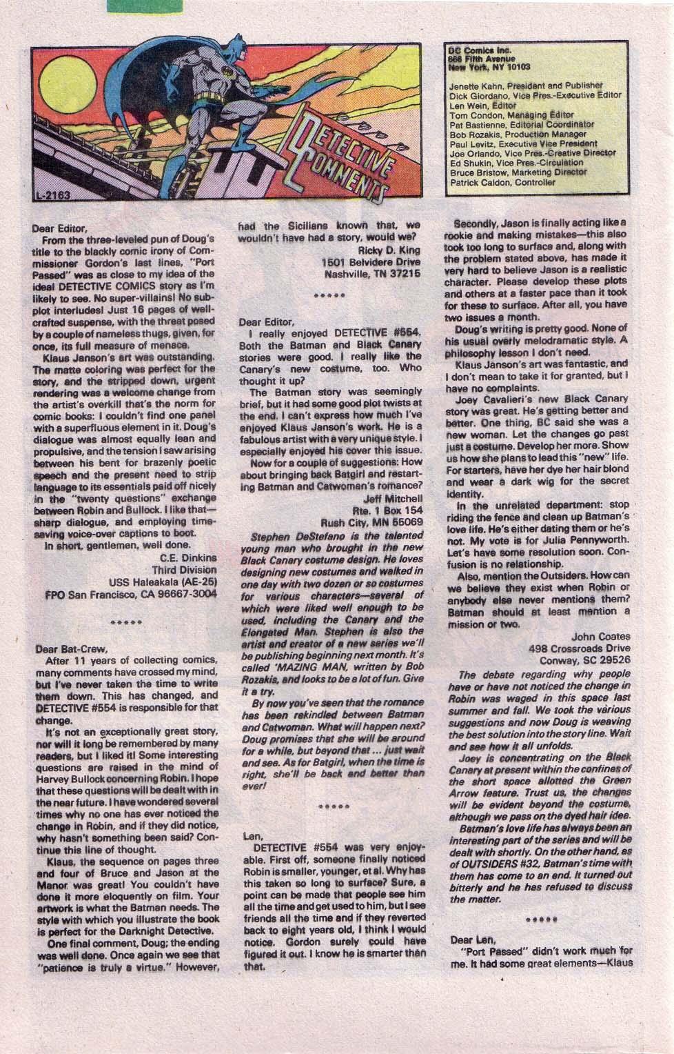 Detective Comics (1937) 558 Page 30