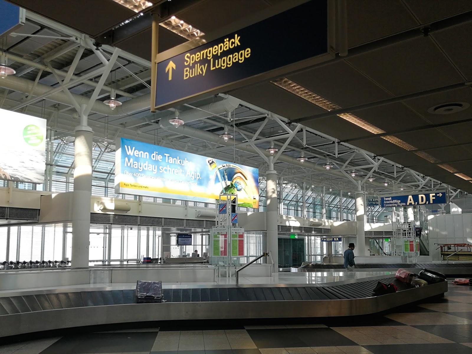 Dari Kuala Lumpur Hingga Ke Munich - Airport