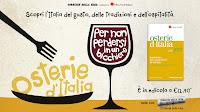 Logo La guida ''Osterie d'Italia 2013'' in edicola con il Corriere della Sera