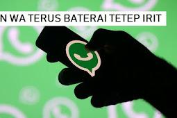 Cara Hemat Data Saat Menggunakan WhatsApp Android