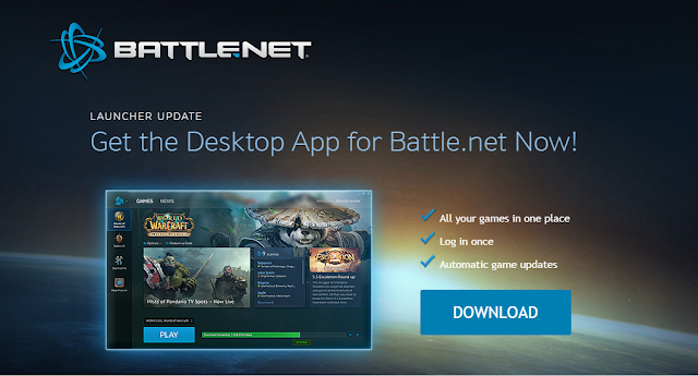 Latest Update From Blizzard's Battle.net Launcher
