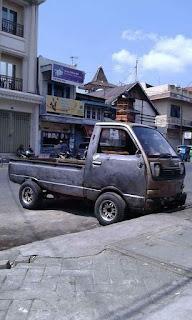 Mobil Tua Mungil Imut ..Jual Daihatsu S38 Dan Honda N360