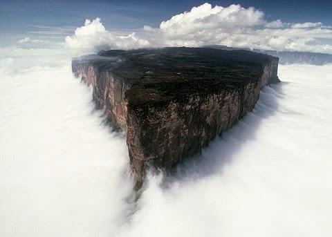 Roraima hegy, Dél-Amerika