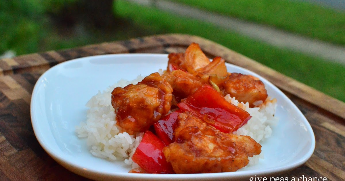 Sweet And Sour Chicken Adapted From Mel S Kitchen Cafe