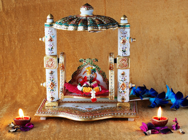 Marble Baal Gopal Jhula_ INR 5499