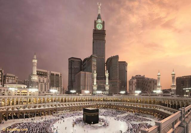 برج الساعة الملكي في مكة المكرمة, برج مكة, برج الساعة