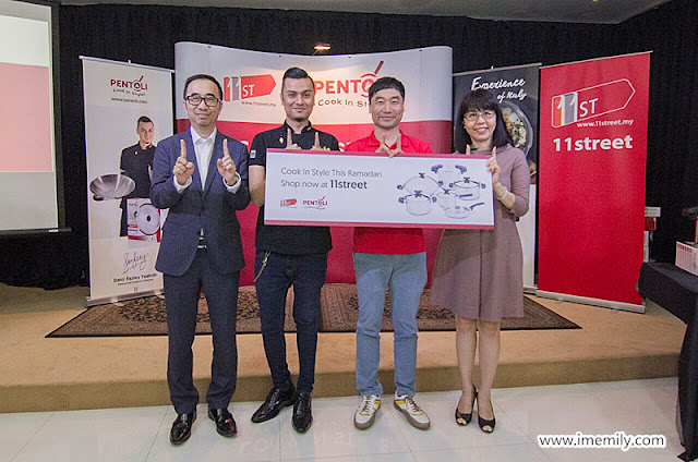 11street Malaysia has partnered up with Pentoli