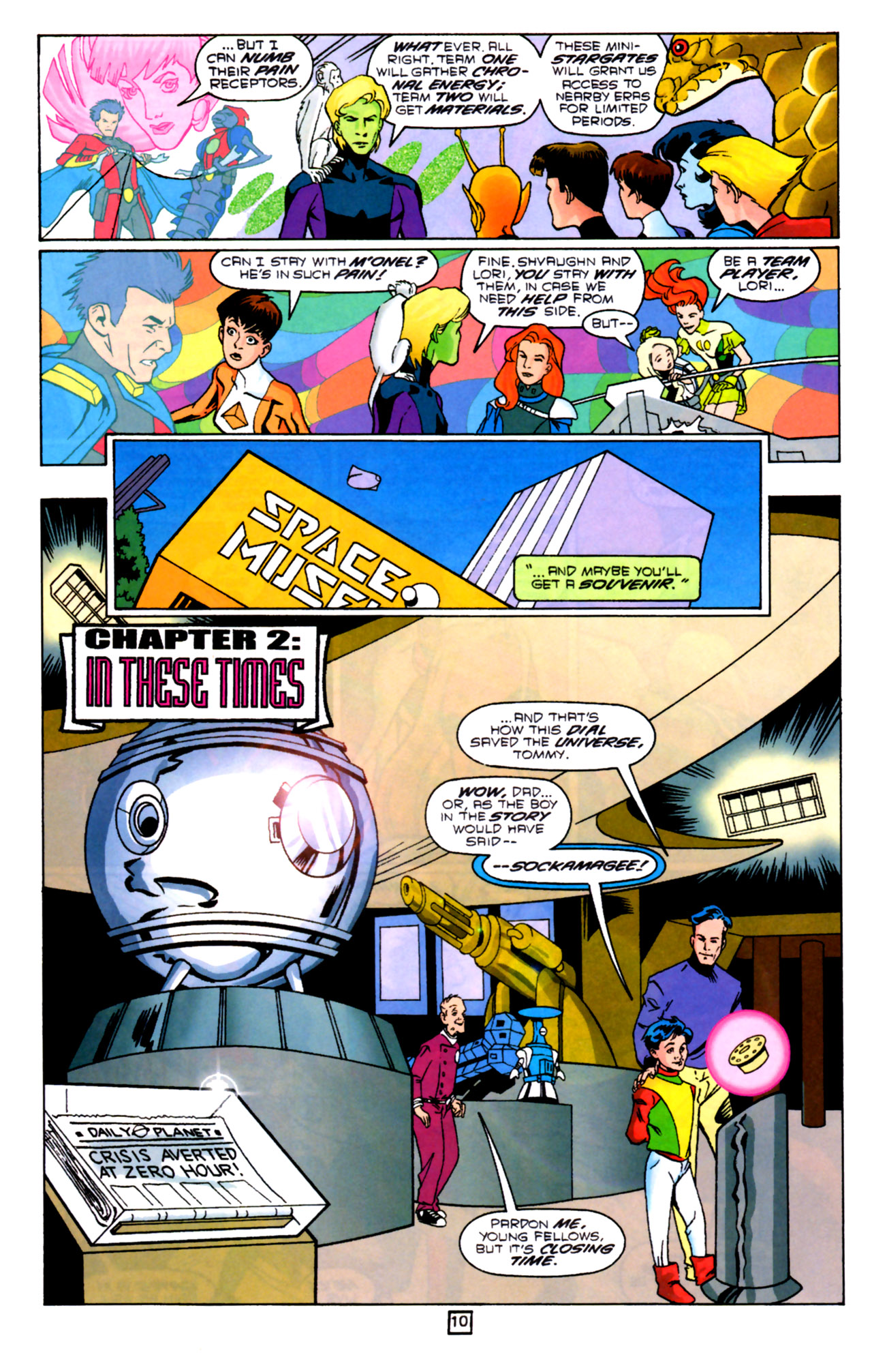 Legion of Super-Heroes (1989) 91 Page 9