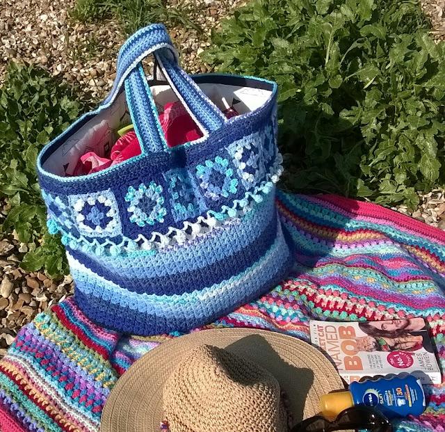 Tina's Allsorts, Crochet Beach Bag