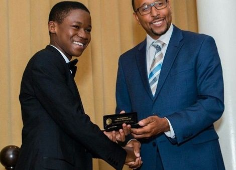 Abraham Attah Presented With A Key To Massachusetts