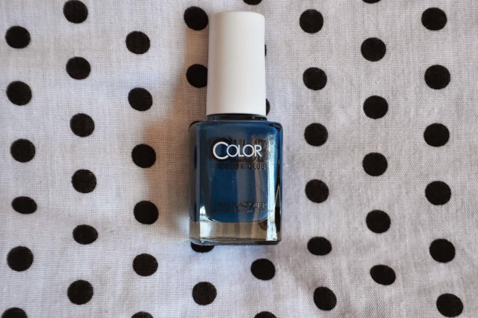 blue Colour Club Glossy Seal Nail Varnish