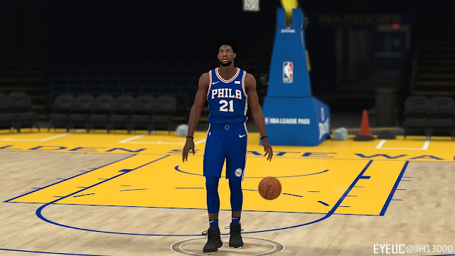 NBA 2K19 - Joel Embiid Cyberface + Body Update by JH13000 ...