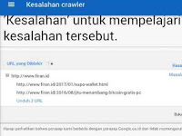 Cara Mengatasi Kesalahan Perayapan (Error Crawler) Google Adsense