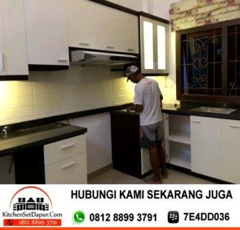 Jasa pembuatan kitchen set bogor kitchen set bogor murah for Kitchen set bogor
