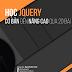 Học jQuery cơ bản đến nâng cao qua 20 bài tập