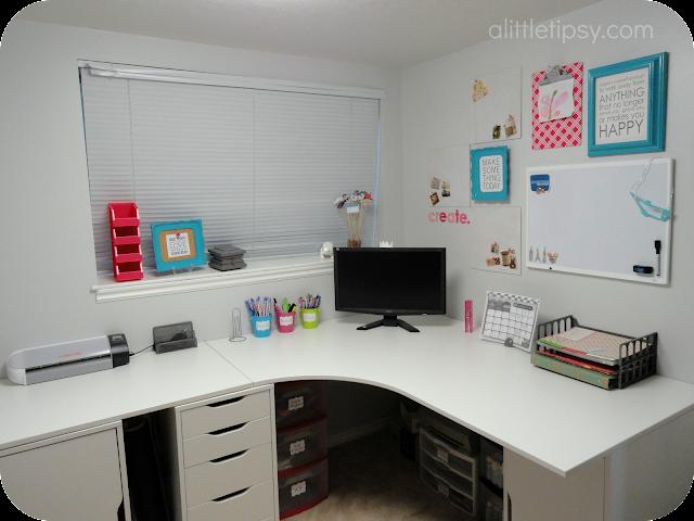 Craft Room Desk: Craft Room Reveal