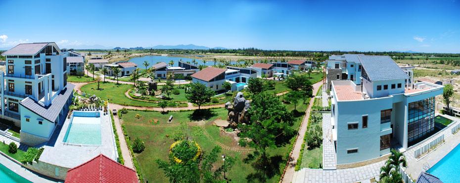 Phối cảnh dự án biệt thự liền kề Bồng Lai Quảng Nam Đà Nẵng