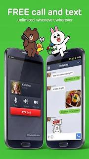 تحميل تطبيق LINE: Free Calls & Messages للجلكسي وجميع اجهزة الاندرويد