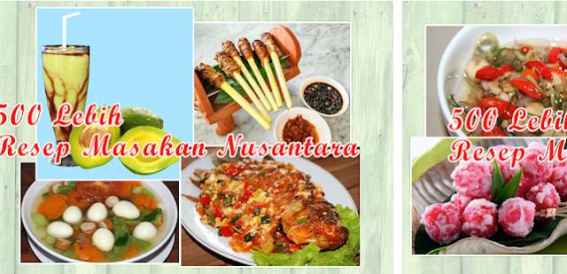 Aplikasi Resep Masakan Nusantara Offline