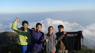 Rute Pendakian Gunung Seminung