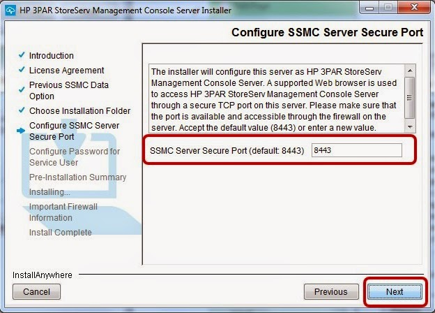 HP 3PAR SSMC (StoreServ Management Console) Installation