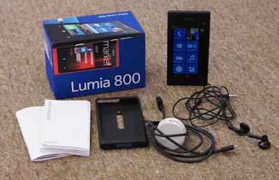 lumia 800 caixa e acessórios separados
