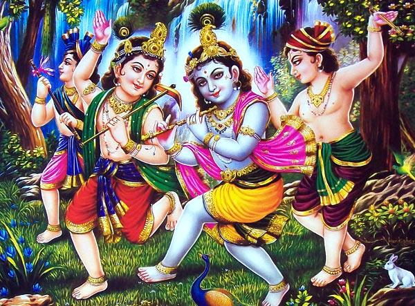 Krishna Radha Beautiful Image
