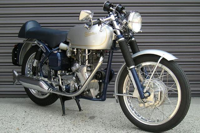 Velocette Venom Thruxton 1960s British classic motorcycle
