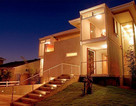 Wilderness: Scrapped but no longer crap ! Container Homes