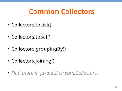 How to convert Stream to ArrayList in Java 8 - Collector example