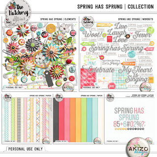 Spring Has Sprung by Akizo Designs