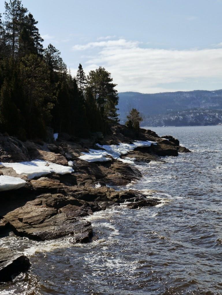 Sainte Rose du Nord Fjord de Saguenay Québec