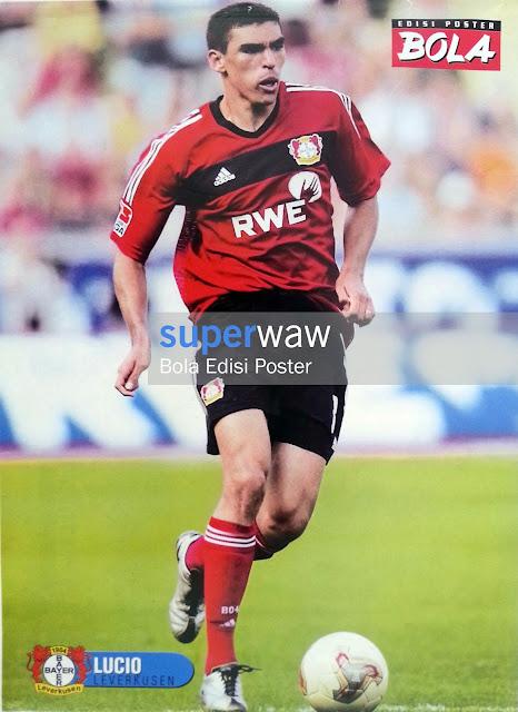 Poster Lucio (Bayern Leverkusen)