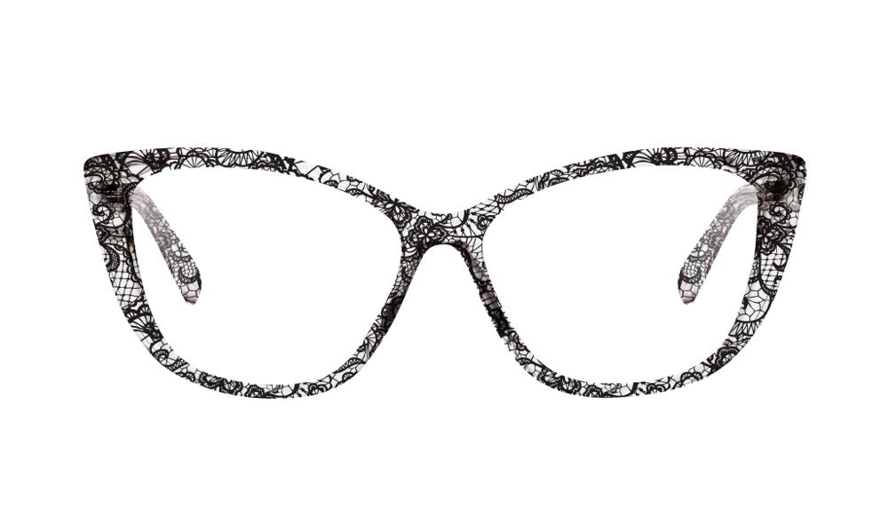 bonlook Dolled Up Black Lace monture lunettes