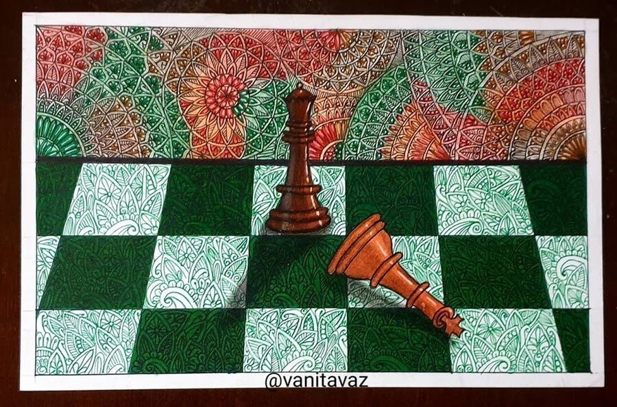 08-Checkmate-Vanita-Vaz-Mandala-and-Doodle-www-designstack-co