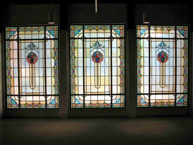 Tiffany GLASS WINDOWS