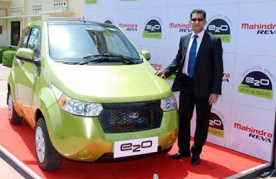 Mahindra Reva, Mahindra e2o, Electric Car, Mahindra Reva e2o Price, Mahindra e2o Price in India, Jagan Kurian