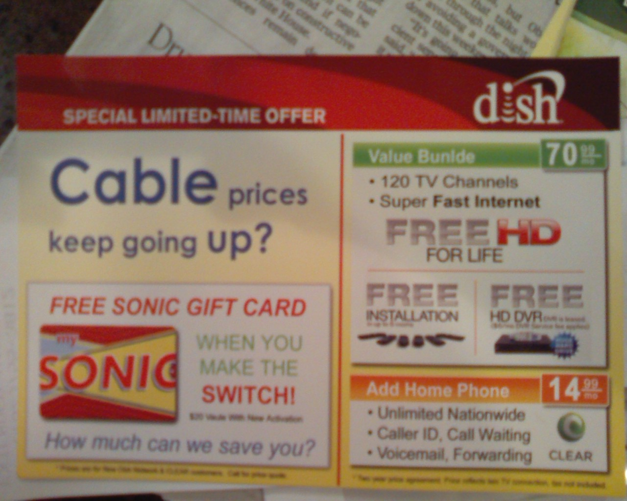dish promo offers