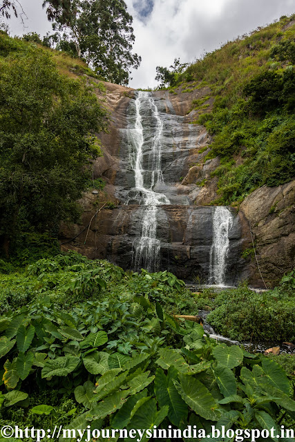 Silver Cascade Water Falls Kodaikanal
