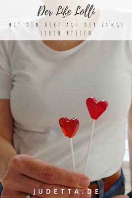 Lolli lecken, leben retten | Mit Herz zur DNA Typisierung