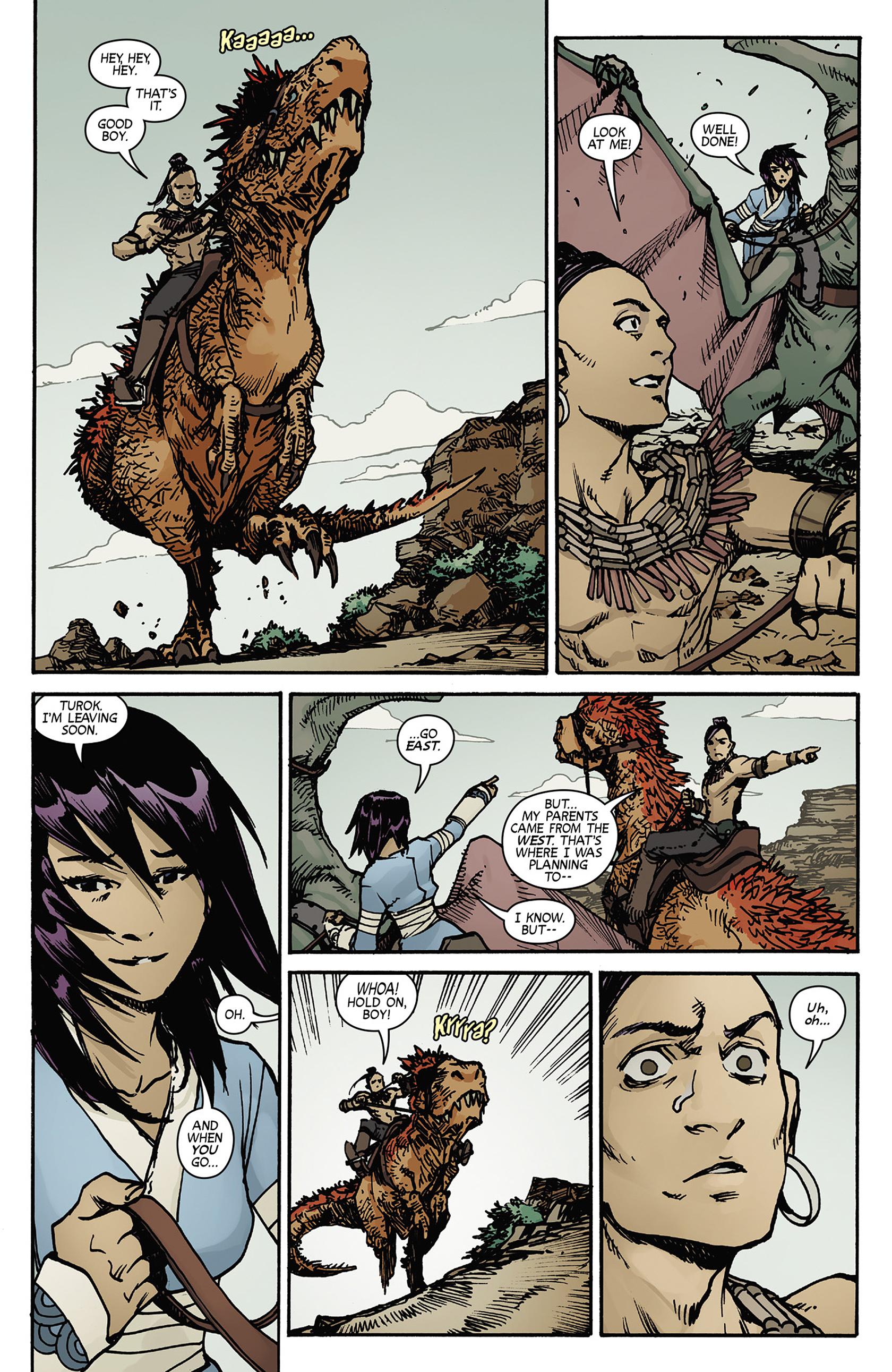 Read online Turok: Dinosaur Hunter (2014) comic -  Issue #5 - 18