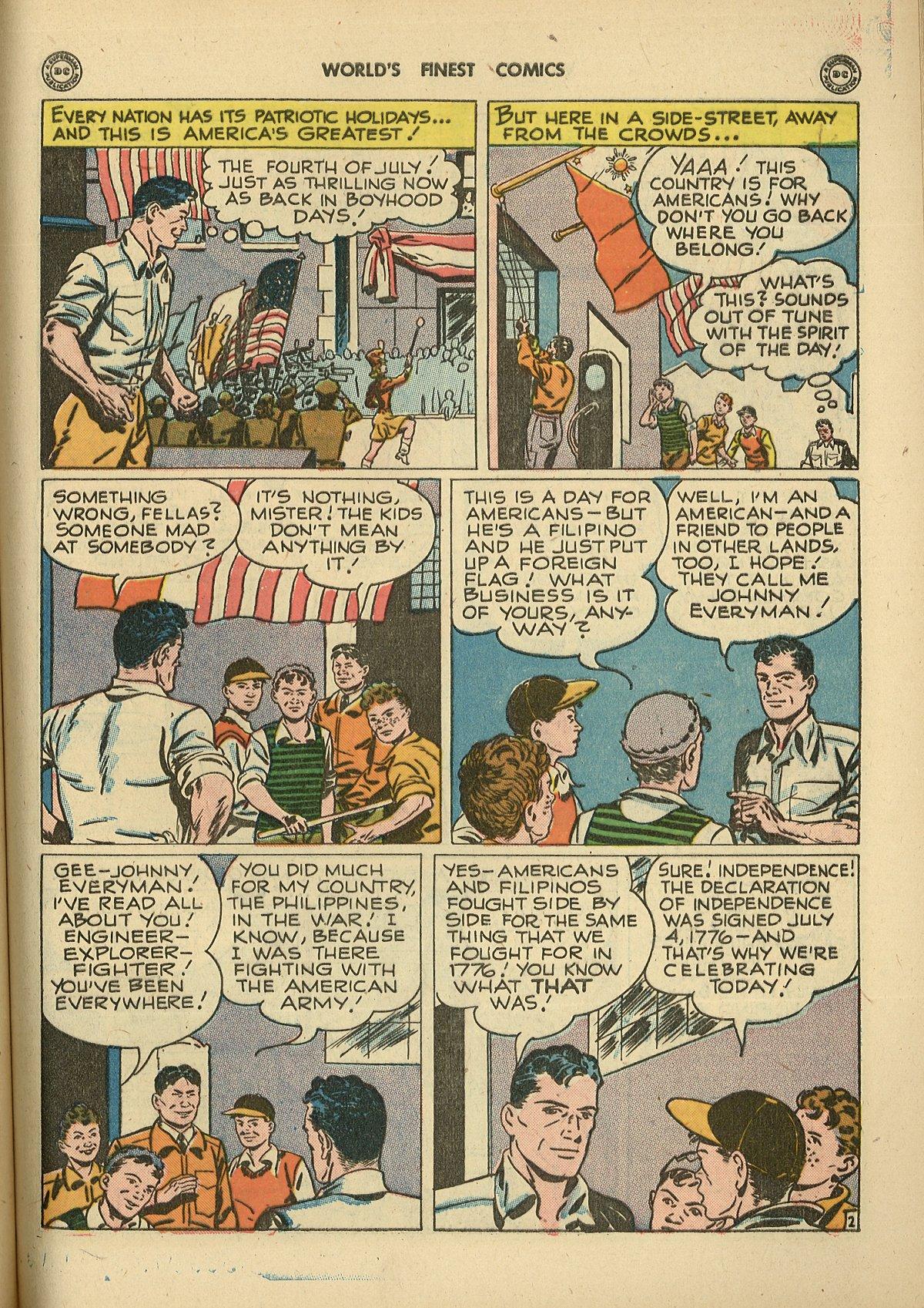 Read online World's Finest Comics comic -  Issue #26 - 41