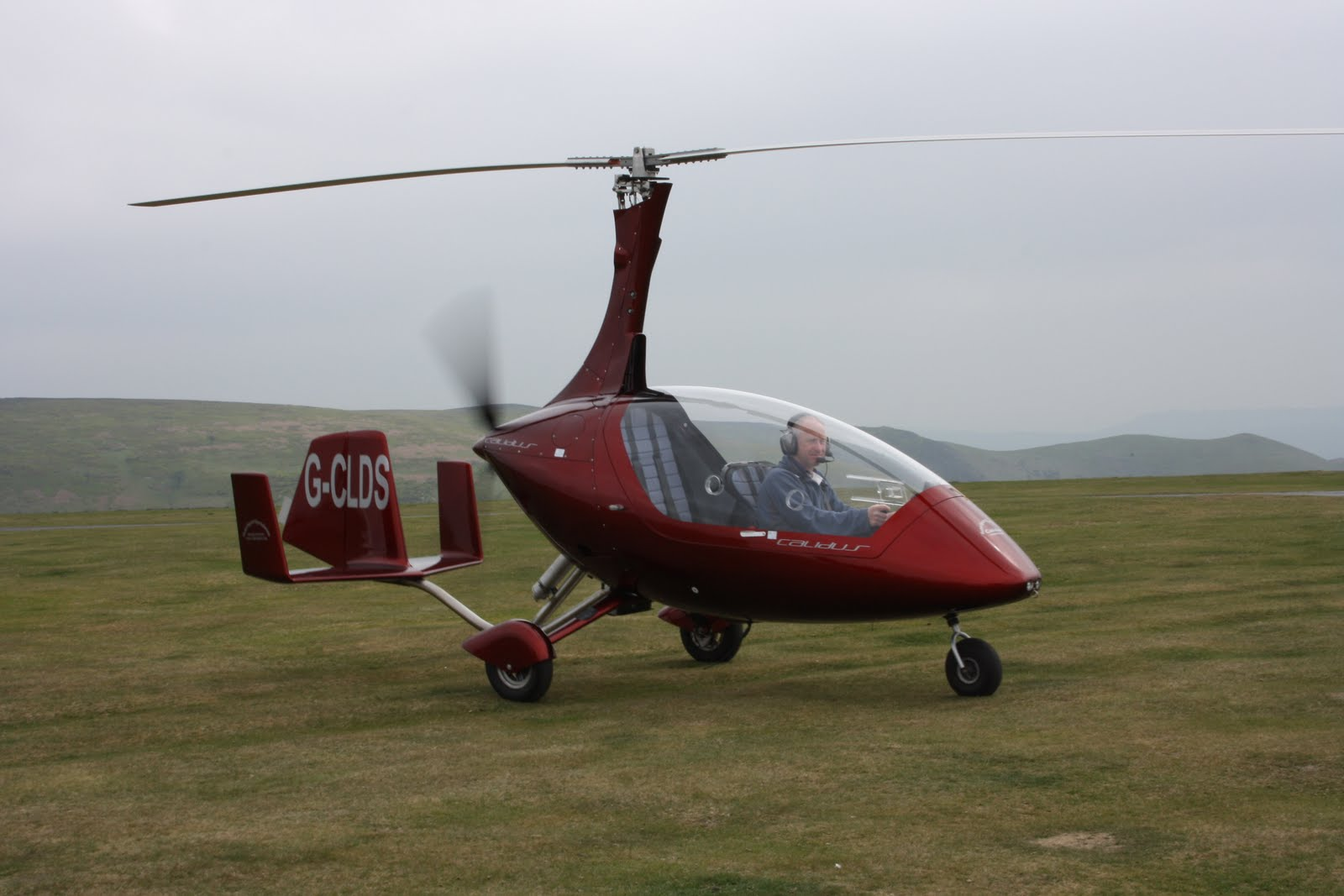 Helicopter Life: Flying the Calidus Gyrocopter