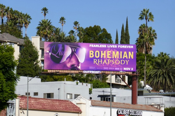 Bohemian Rhapsody film billboard