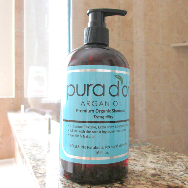 Review: pura d´or Argan Oil Premium Organic Shampoo - Tranquility - 16 oz. - 24.99$