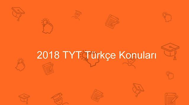 tyt türkçe konuları