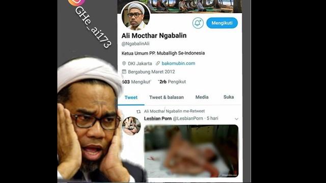Viral #NgabalinNontonBokep, Twitter Ali Ngabalin Retweet Pideo Vorno