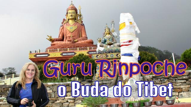 Imagem do Guru Padmasambhava ou Guru Rinpoche - Samdruptse